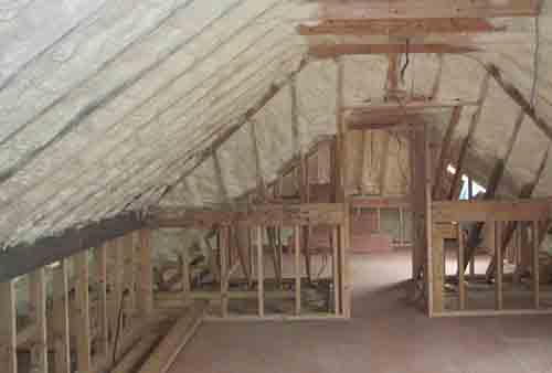 Roof Insulation Ireland Spray Foam