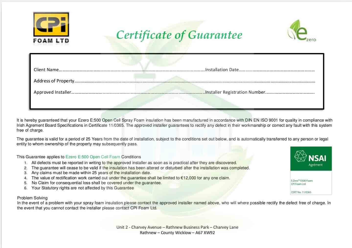 Attic Insulation Cavan Nsai Certified Attic Conversions