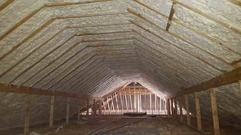 Spray Foam Insulation Ireland Cpi Foam Ltd