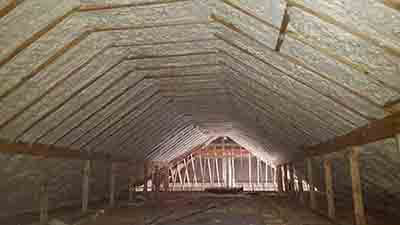 Spray Foam Insulation Attic Open Cell