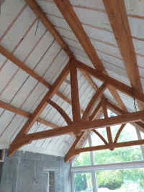 Roof Insulated with Spray Foam INsulation