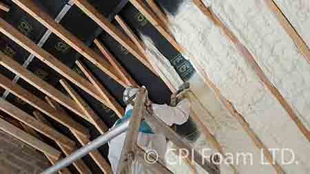 Spray Foam Insulation Ireland Man